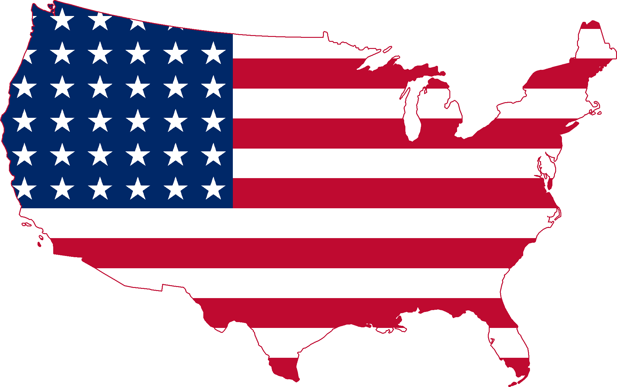 Courtesy of Wikimedia, labeled for reuse: https://upload.wikimedia.org/wikipedia/commons/4/46/Flag_Map_of_the_United_States_(1912_-_1959).png