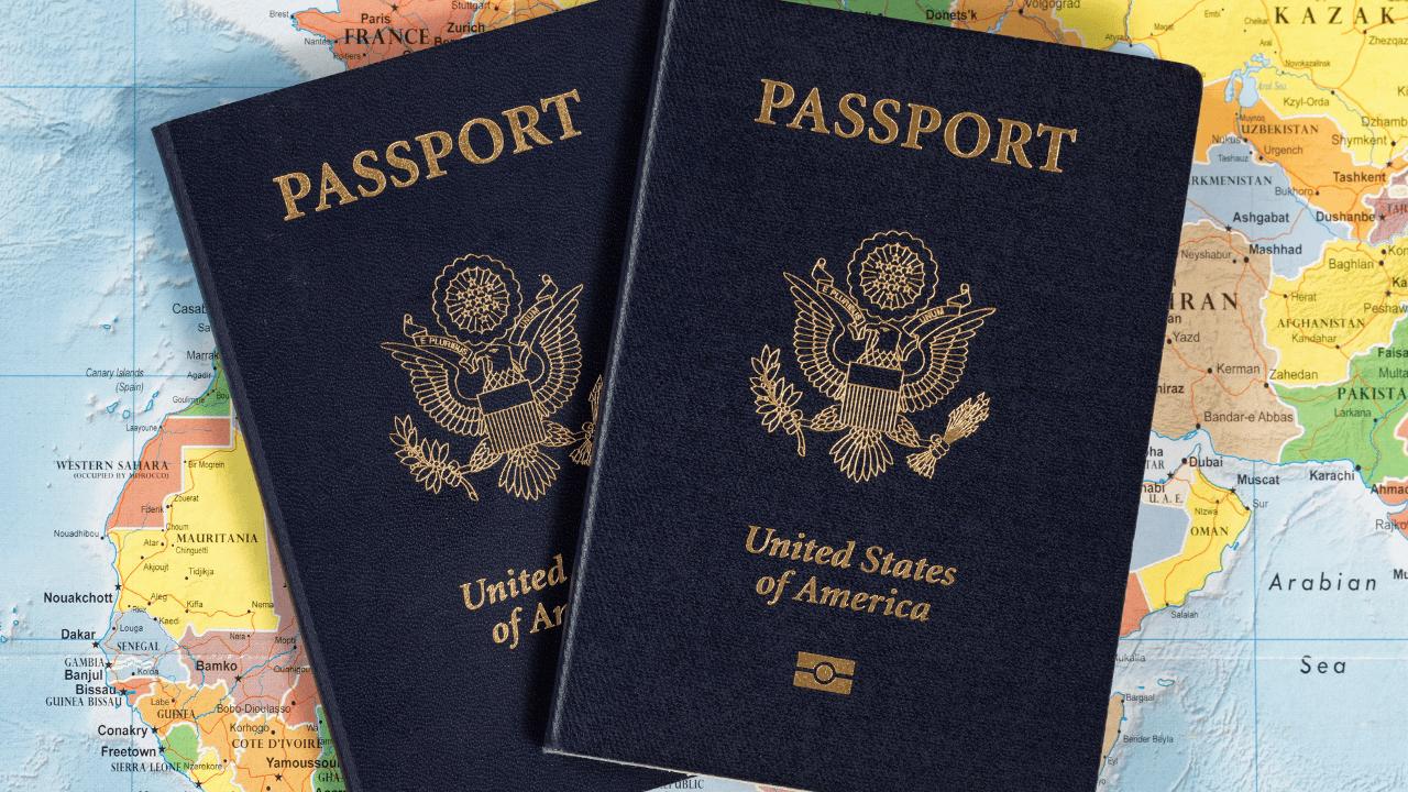 2 United States Passport
